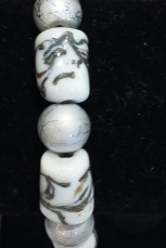 Kay glass bead bracelet