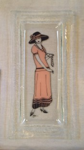 20s long plate by Kaye Taylor-Law