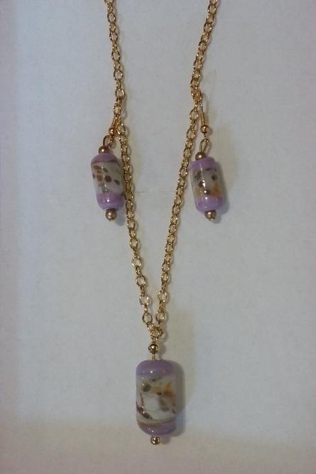 Handmade glass bead jewellery by Kay Beale